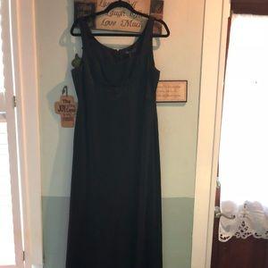 Size 12 BCBG sleeveless long evening gown